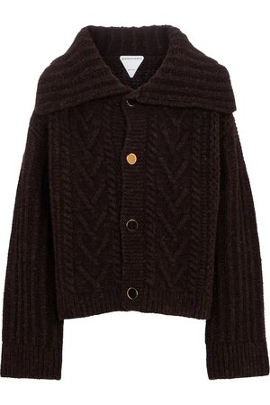 Bottega Veneta Cable-knit wool cardigan