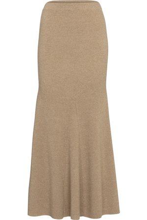 Nanushka Kobieta Spódnice midi - Alina wool-blend midi skirt