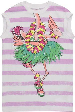 Stella McCartney Striped cotton-jersey dress