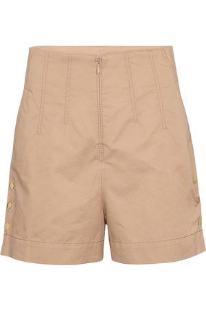 Dorothee Schumacher Sporty Power high-rise cotton shorts