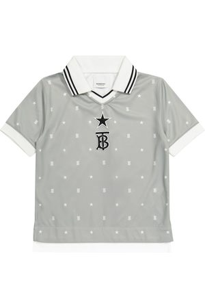 Burberry Logo technical-jersey polo shirt