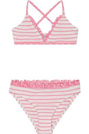 Melissa Odabash Dziewczynka Bikini - Baby Sky striped bikini