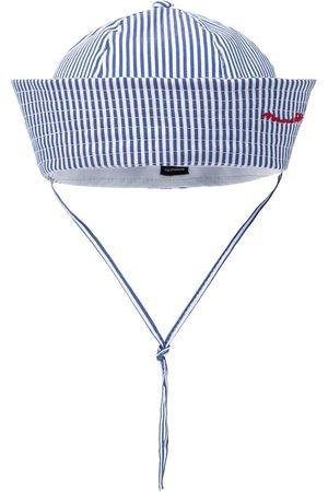 MONNALISA Czapki z daszkiem - Stretch-cotton striped cap