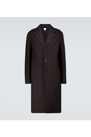 Bottega Veneta Checked double-faced wool coat