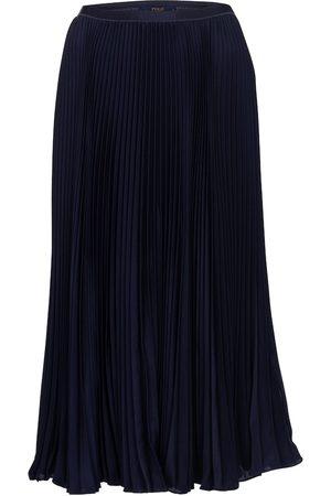 Polo Ralph Lauren High-rise pleated midi skirt