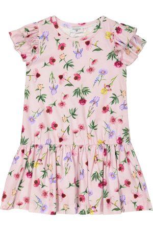 MONNALISA Floral jersey dress