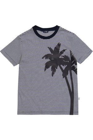 Il gufo Striped cotton T-shirt