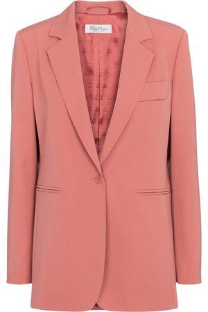 Max Mara Accorta single-breasted wool blazer