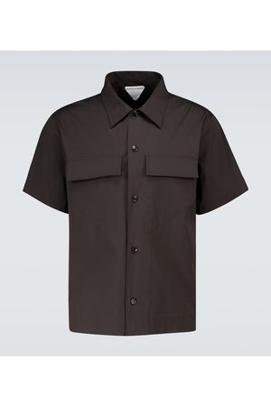 Bottega Veneta Military short-sleeved shirt
