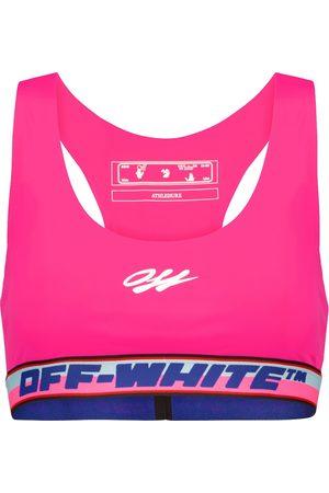OFF-WHITE Logo sports bra