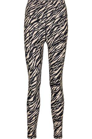 The Upside Zebra-print leggings