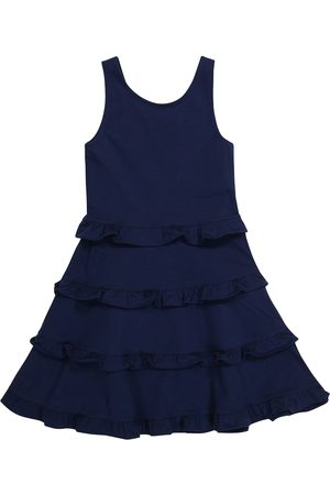 Polo Ralph Lauren Kids Stretch-cotton dress