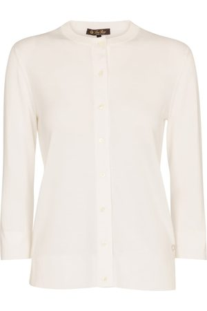 Loro Piana Ventotene cotton and silk cardigan