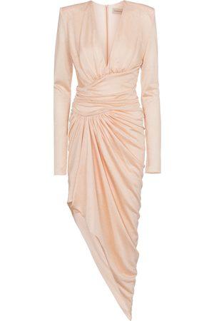 Alexandre Vauthier Kobieta Sukienki midi - Stretch-jersey midi dress