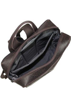 Daag Mężczyzna Plecaki - Skórzany męski plecak Jazzy Wanted 99 ciemny brąz - ciemny brązowy
