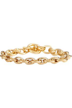 Tilly Sveaas Double Link 18kt gold-plated chain bracelet