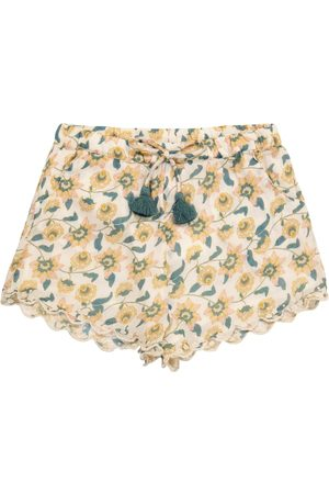 Louise Misha Vallaloid floral cotton shorts