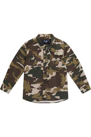 Il Gufo Camouflage cotton-blend jacket