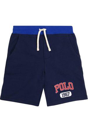 Ralph Lauren Dziewczynka Szorty - Logo drawstring cotton shorts