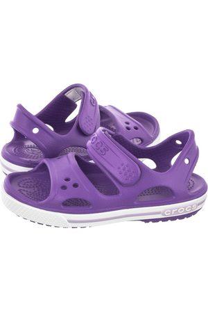 Crocs Sandałki Crocband II Sandal PS Neon Purple 14854-518 (CR74-k)