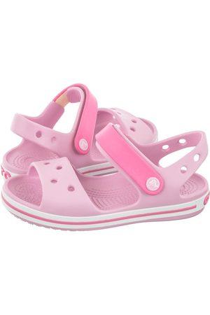 Crocs Sandałki Crocband Sandal Kids Ballerina Pink 12856-6GD (CR39-u)