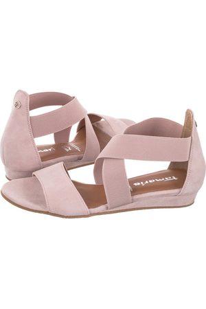 Tamaris Sandały Różowe 1-28138-26 525 Rose Uni (TM309-a)