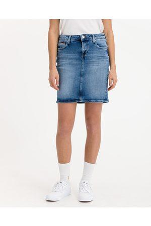 Tommy Hilfiger Kobieta Spódnice jeansowe - Classic Denim Spódnica