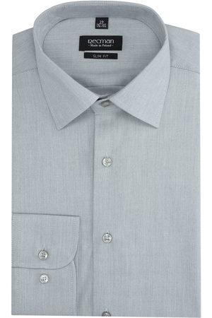 Recman Mężczyzna Na co dzień - Koszula versone 2855 długi rękaw slim fit