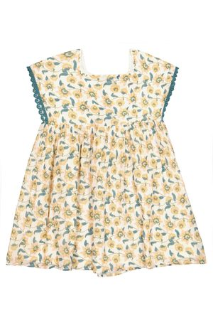 Louise Misha Tapalpa floral cotton dress