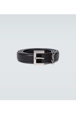 Saint Laurent Paski - YSL leather belt
