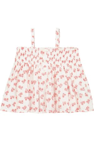 Bonpoint Baby Abricot floral cotton top