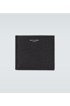 Saint Laurent Grained leather wallet