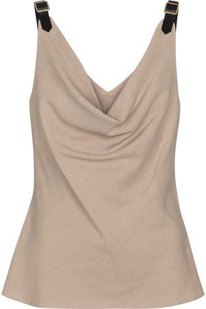 Altuzarra Zaria linen-blend camisole
