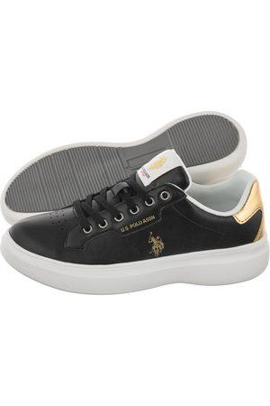 U.S. Polo Assn. Kobieta Sneakersy - Sneakersy Jewel029 Blk-Gold JEWEL4029S1/Y2 (US59-b)