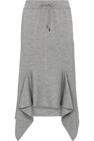 Tom Ford Kobieta Spódnice midi - Cashmere and silk midi skirt