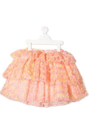 Charabia Dziewczynka Spódnice - Orange