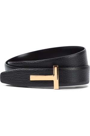Tom Ford Kobieta Paski - Monogram leather belt