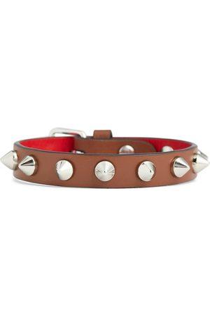 Christian Louboutin Kobieta Bransoletki - Loubilink leather bracelet