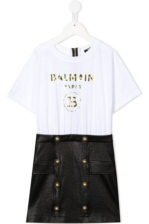 Balmain Dziewczynka Sukienki dzienne - Black