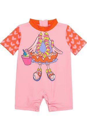 Stella McCartney Kids Baby printed swimsuit