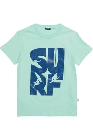 Il Gufo Printed cotton jersey T-shirt