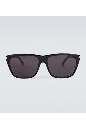 Saint Laurent Okulary przeciwsłoneczne - Square-framed acetate sunglasses