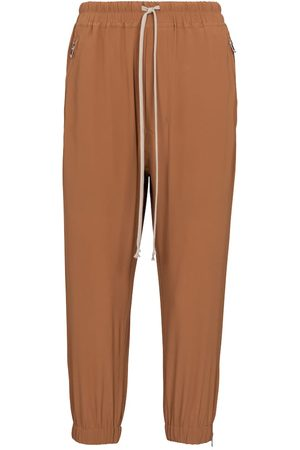 Rick Owens Astaires silk-blend trackpants