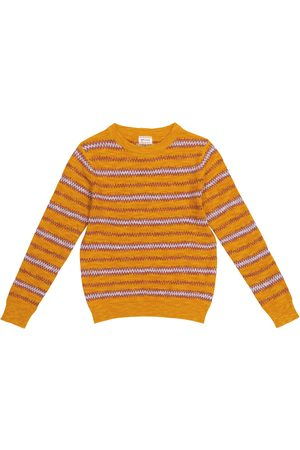 MORLEY Chłopiec Swetry i Pulowery - Nomad cotton-blend sweater