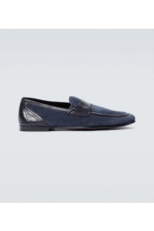Dolce & Gabbana Brogsy i Mokasyny - Suede loafers