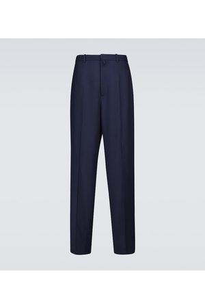 Balenciaga Large fit tailored wool pants