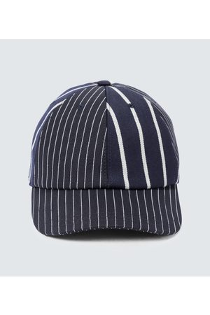 Thom Browne Kapelusze - Pinstriped baseball cap