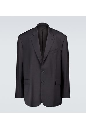Balenciaga Marynarki i Żakiety - Wool single-breasted blazer