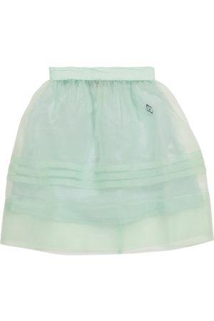 The Animals Observatory Dziewczynka Spódnice - Blowfish organza skirt