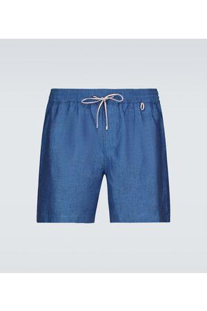 Loro Piana Szorty - Bay Sprint linen shorts